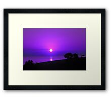 Dawn in the South eighth series Framed Print