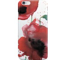April Poppies 2 iPhone Case/Skin