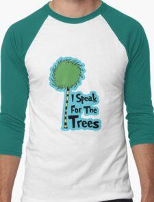 I Speak For The Trees Men's Baseball ¾ T-Shirt
