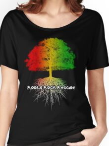Reggae Tree of Knowledge Women's Relaxed Fit T-Shirt
