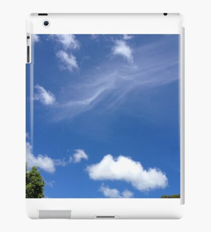 Wisps and fluff iPad Case/Skin