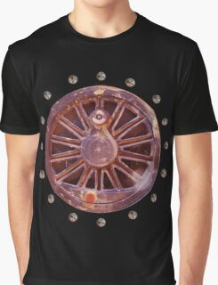 Steampunk Wheels Graphic T-Shirt