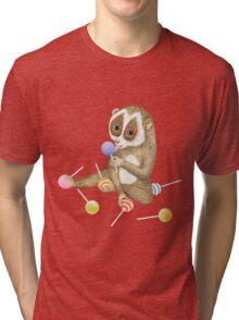 Animal Slow Loris Tri-blend T-Shirt