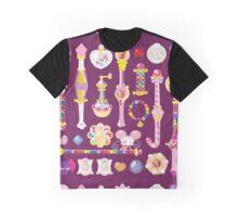 Ojamajo Doremi Items Graphic T-Shirt