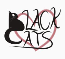 Black Cat Love! Baby Tee