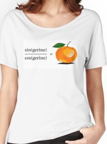 Maths Geek Joke - Tangerine Women's Relaxed Fit T-Shirt