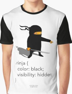 Geek Tee - CSS Jokes - Ninja Graphic T-Shirt