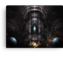 GalMech And The Moon Guardians Canvas Print