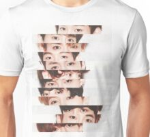 Exo - Lined Faces Unisex T-Shirt