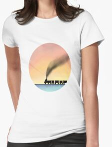Day Dream Womens Fitted T-Shirt