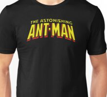 The Astonishing Ant-Man - Classic Title - Clean Unisex T-Shirt