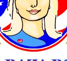 LA RAZA POR CLINTON Sticker