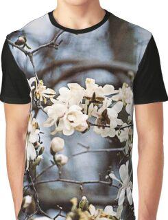 Magnolia Blossoms Graphic T-Shirt