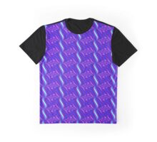 Bright Blue Graphic T-Shirt