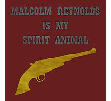 Malcolm Reynolds is my Spirit Animal Photographic Print