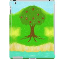 Apple Trees Fantasy Landscape iPad Case/Skin