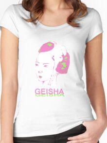 ONI - GEISHA Women's Fitted Scoop T-Shirt