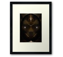 The Leopard Stone Framed Print