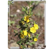 Tall Hibbertia iPad Case/Skin