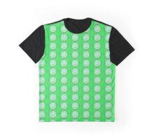 Green Flower Graphic T-Shirt