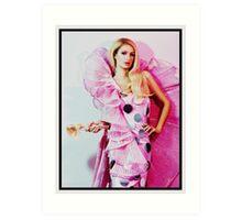 Paris Hilton - Barbie Art Print