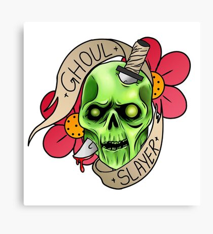 Ghoul Slayer Canvas Print