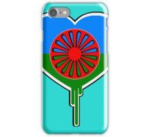 ROMA GYPSY BLEEDING HEART iPhone Case/Skin