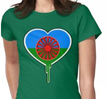 ROMA GYPSY BLEEDING HEART Womens Fitted T-Shirt