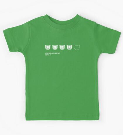 Meow Meow Beenz Level 4 Kids Tee