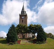 Pretty Church in Inverness by kalaryder