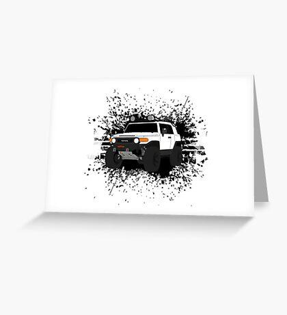 FJ Cruiser Greeting Card