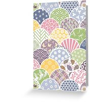 Spring Scales Greeting Card
