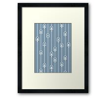 Chime in Blue Harmony Framed Print