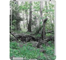 Woodland Scene - Green iPad Case/Skin