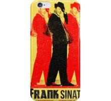 Frank Sinatra Letterpress Poster iPhone Case/Skin