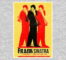 Frank Sinatra Letterpress Poster Unisex T-Shirt