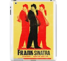 Frank Sinatra Letterpress Poster iPad Case/Skin