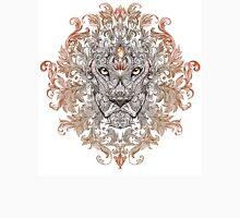 Head of a lion with a mane (color) Unisex T-Shirt