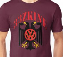2Headed Black Iron Eagle Volkswagen style Unisex T-Shirt
