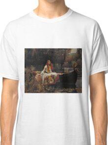 John William Waterhouse - The Lady of Shalott 1888 . Woman Portrait  Classic T-Shirt