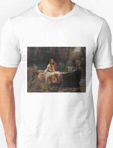 John William Waterhouse - The Lady of Shalott 1888 T-Shirt