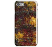 Claude Monet - The Japanese Footbridge  Giverny ,Impressionism iPhone Case/Skin