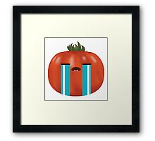 Emotional Heirloom Tomato Framed Print