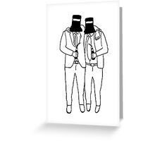 The Drinking Neds Greeting Card