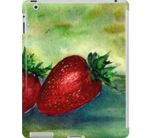 Strawberry Thoughts iPad Case/Skin