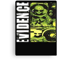 evidence alien ufo Canvas Print