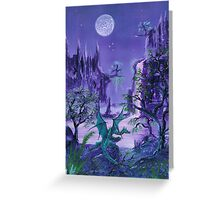 When The Stars Shine, The Dragons Awakes Greeting Card