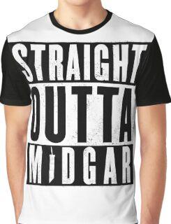Straight outta Midgar Graphic T-Shirt