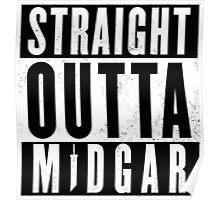 Straight outta Midgar Poster