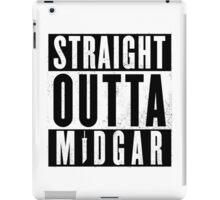 Straight outta Midgar iPad Case/Skin